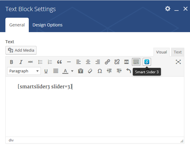 WPBakery Page Builder - Smart Slider 3