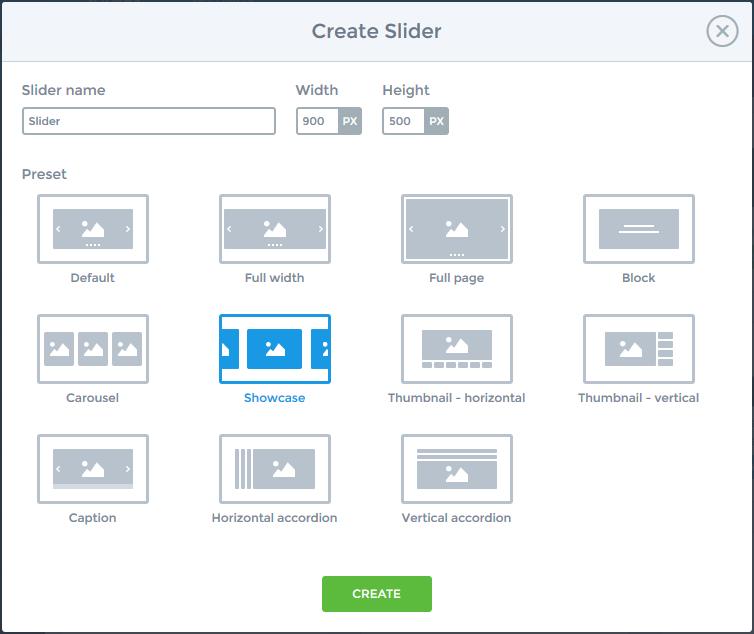 Slider tutorial - Showcase type - Sponsors - Smart Slider 3