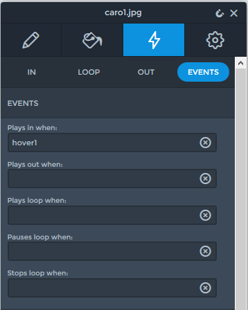 Events - Show layers on hover - Smart Slider 3