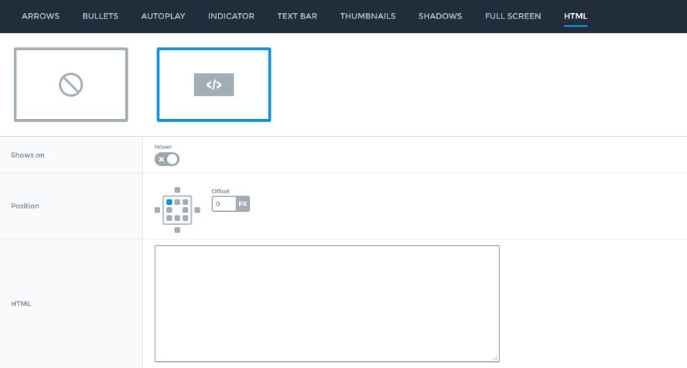 Slider controls - HTML - Smart Slider 3