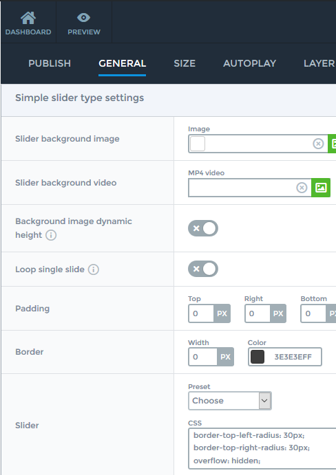 How to add border radius? - Smart Slider 3