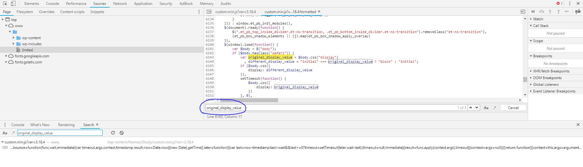 Divi bug - slider doesn't show up in Safari - Smart Slider 3