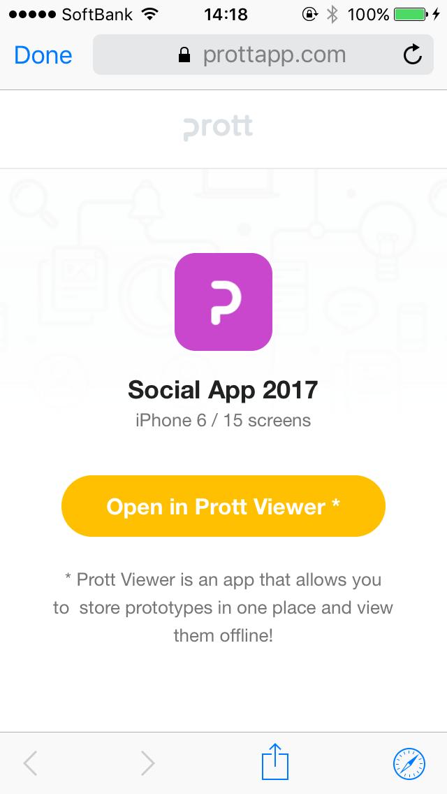 Prott Viewer App - Help documents - Prott