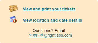 printing tickets inviteright