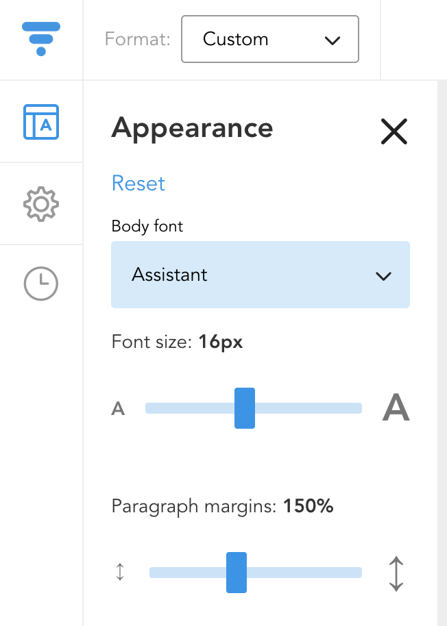 This Means That The Cover Letter Is Not Associated With Any Of Your CVs.  You Can Customize The Font, Text Size, And Margins In The Appearance Tab.