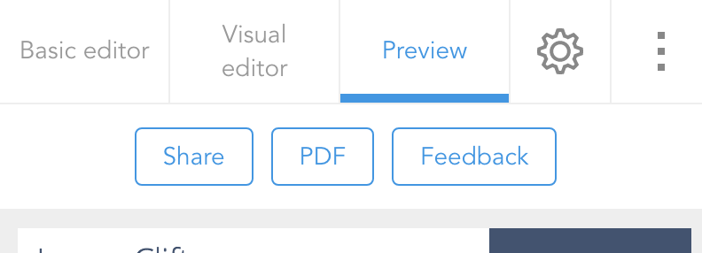 How do I share my resume VisualCV Knowledge Base