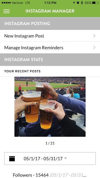 Instagram Posting From Business App - Evergreen