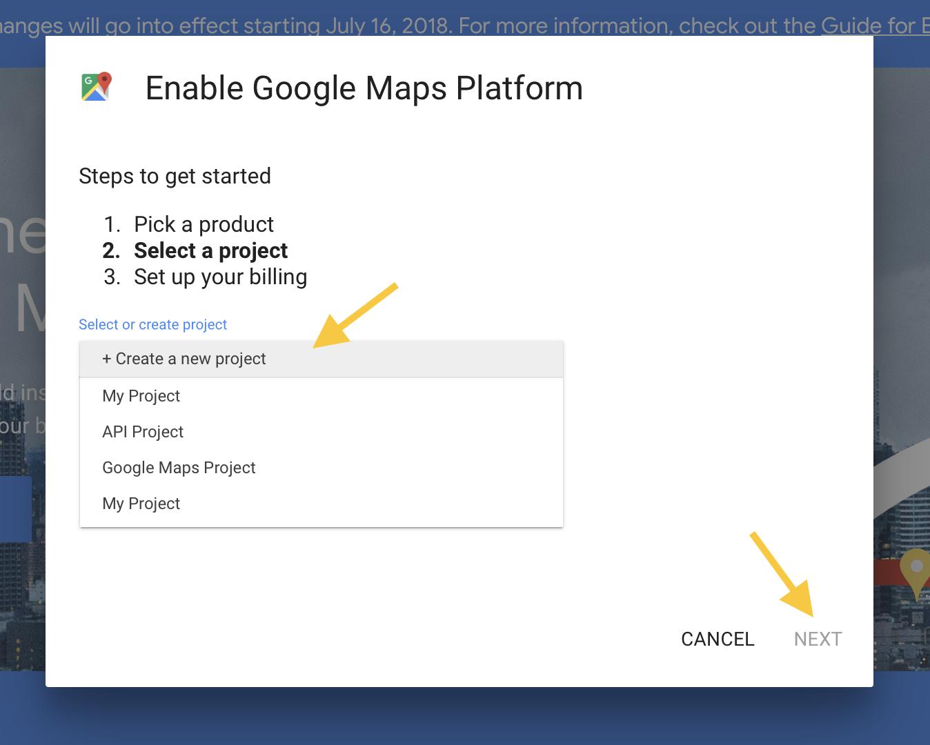 Generate And Setup Google Maps API Keys - GEO my WP