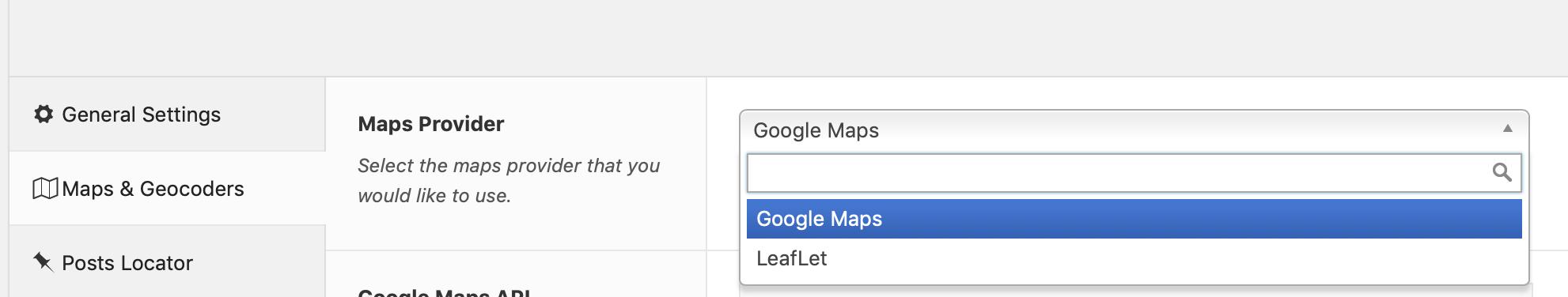 Maps & Geocoder Settings - GEO my WP Knowledge Base