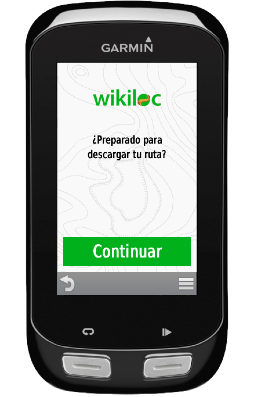 descargar rutas de wikiloc app a tu gps garmin garmin. Black Bedroom Furniture Sets. Home Design Ideas