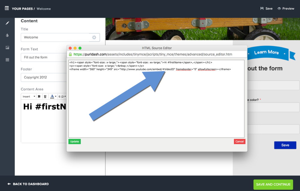 Use Variable Videos in your PURL Campaign - Purlem Docs
