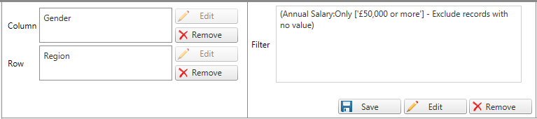 Using filters in CrossTab - QuenchTec Support