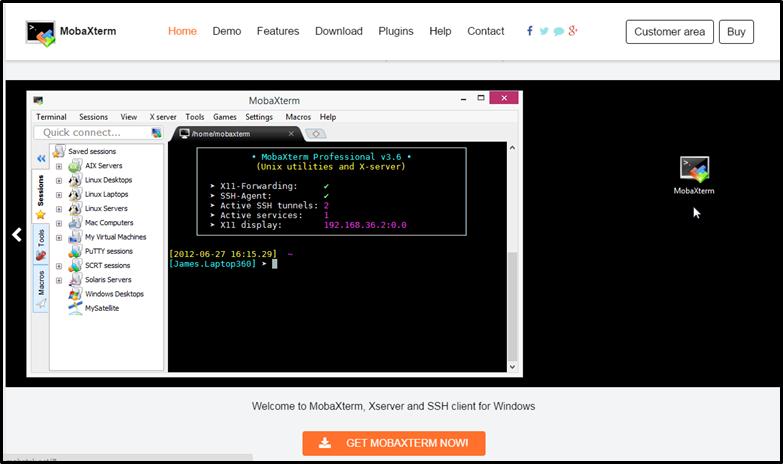 MobaXterm (Windows terminal client) - JASMIN help docs