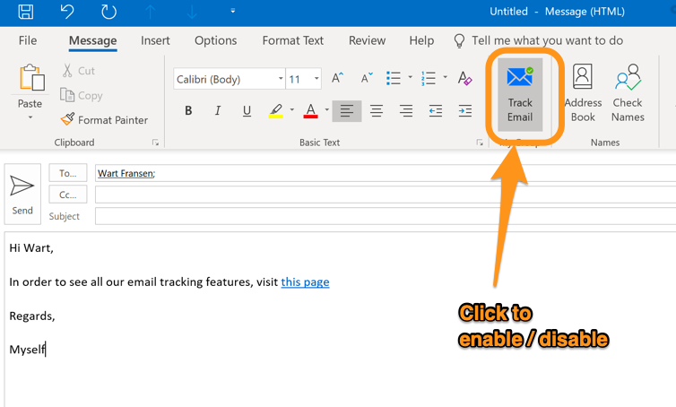 Outlook email tracking plugin - LeadBoxer Knowledge Base