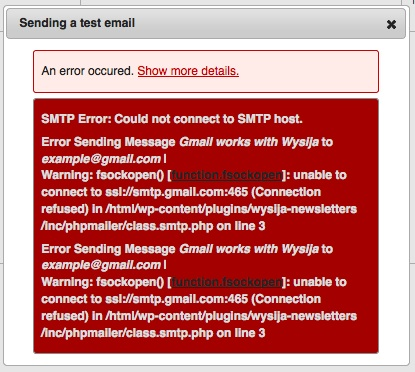 Sending with Gmail doesn't work… What to do? - MailPoet 2
