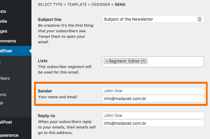 1and1 email settings