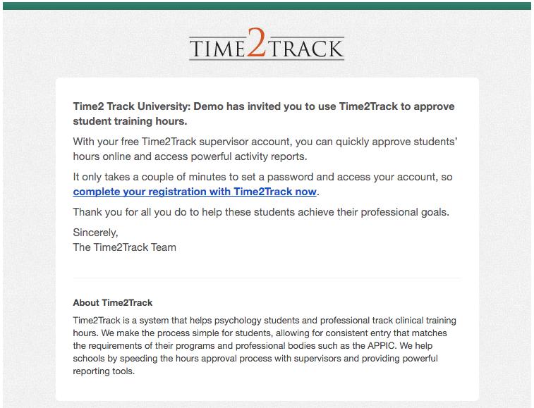 Time2Track Basics for Supervisors - Time2Track Knowledge Base