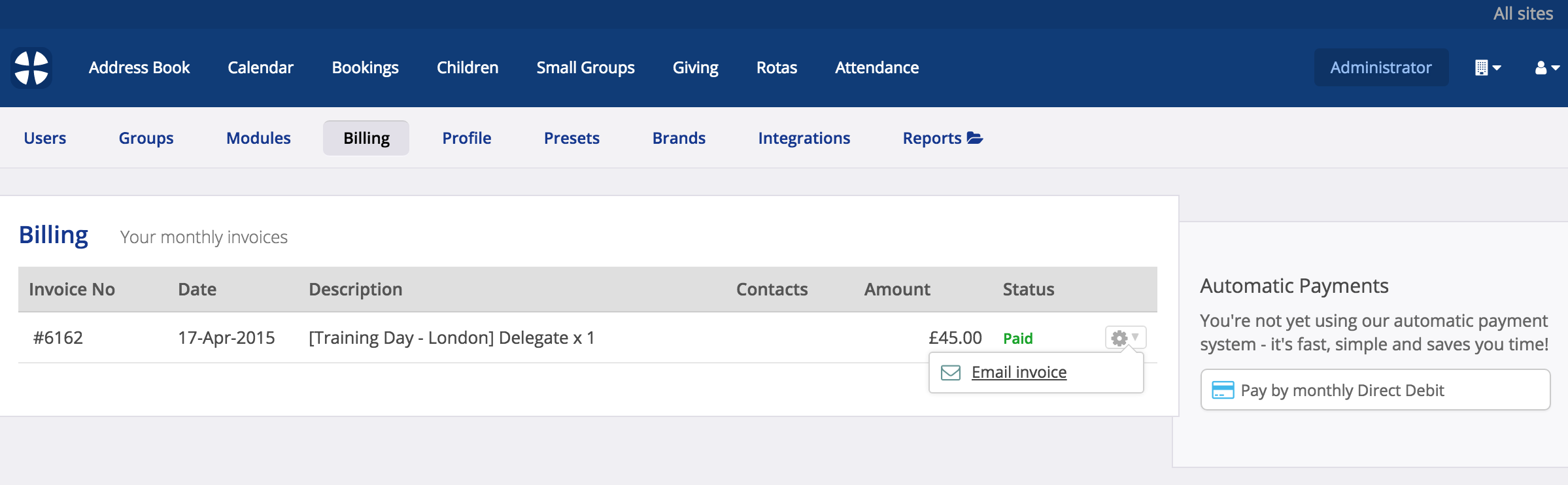 getting copies of your churchsuite invoices churchsuite support