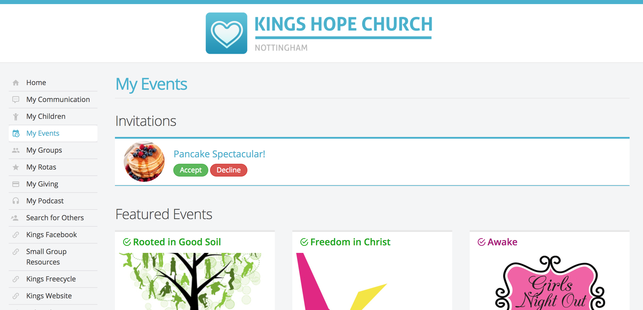 Event invitations churchsuite support articles for events that are set as visible within my churchsuite and that have sign up through my churchsuite enabled invitees will see invitations awaiting stopboris Image collections