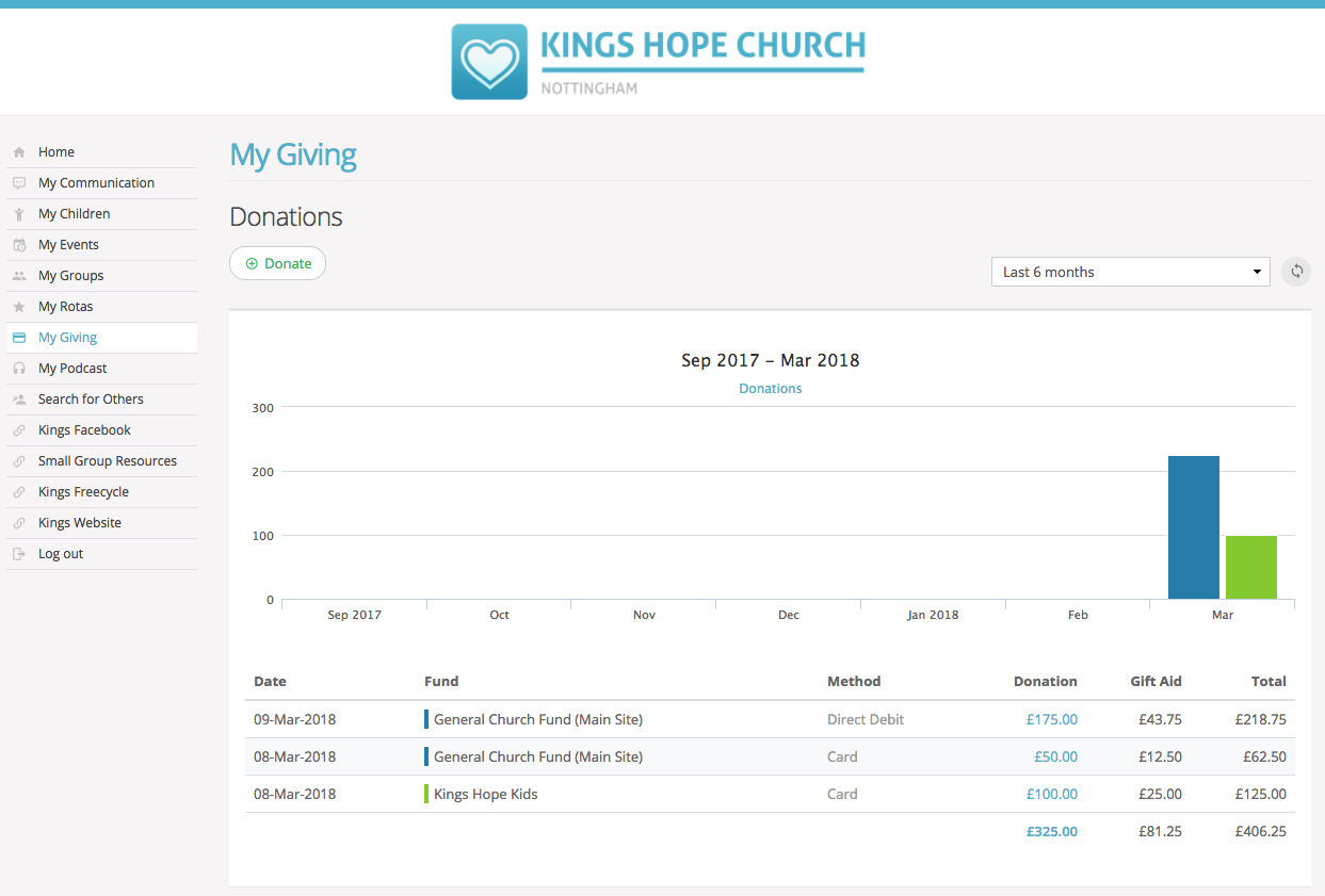 How to activate my giving for your church members in my my giving takes just a couple of minutes to activate on your account so lets get started begin by going to the giving module and clicking through to the negle Images