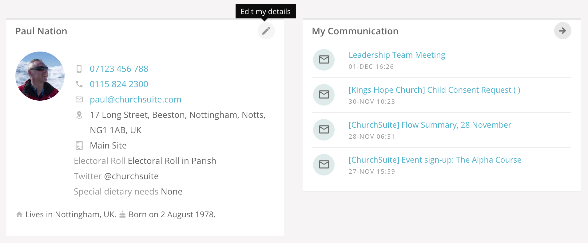 2  My ChurchSuite user guide - ChurchSuite Support Articles