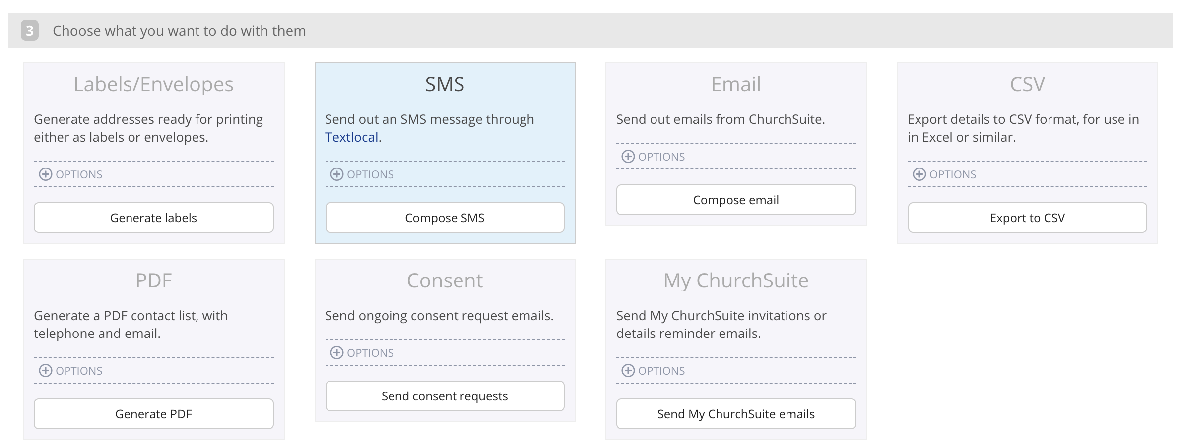 Sending SMS messages through Textlocal - ChurchSuite Support Articles