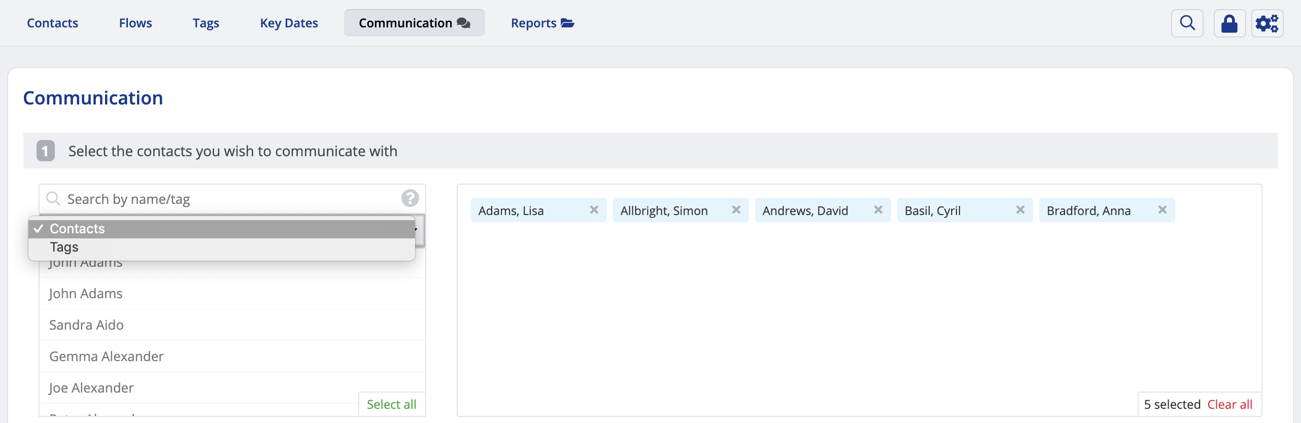 How to export people data to a CSV file - ChurchSuite