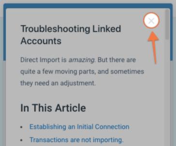 Troubleshooting Linked Accounts - YNAB Help