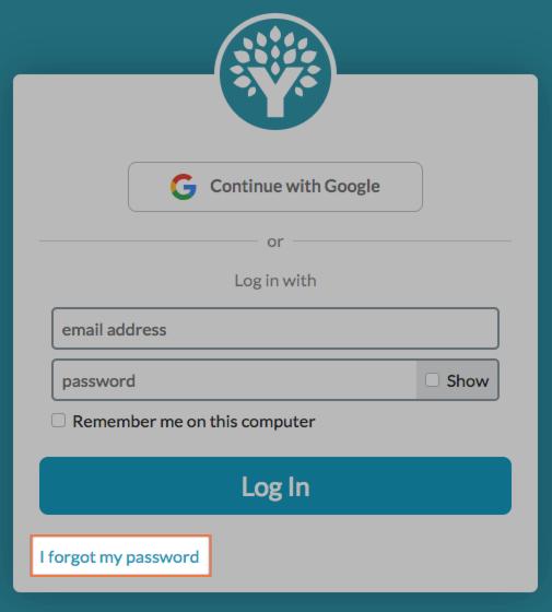 Change Email & Password - YNAB Help