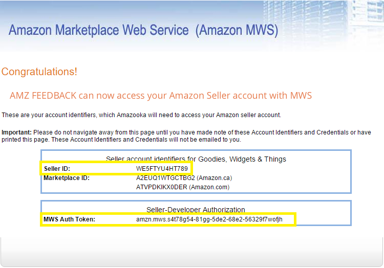 How to Connect Your Amazon Seller Account - AMZ Tracker Self Help Center