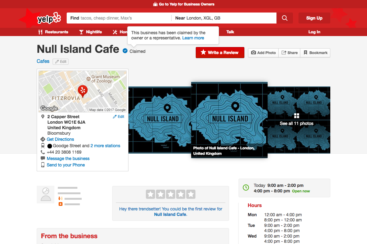 Claiming profiles claimed by other at Yelp - Localistico