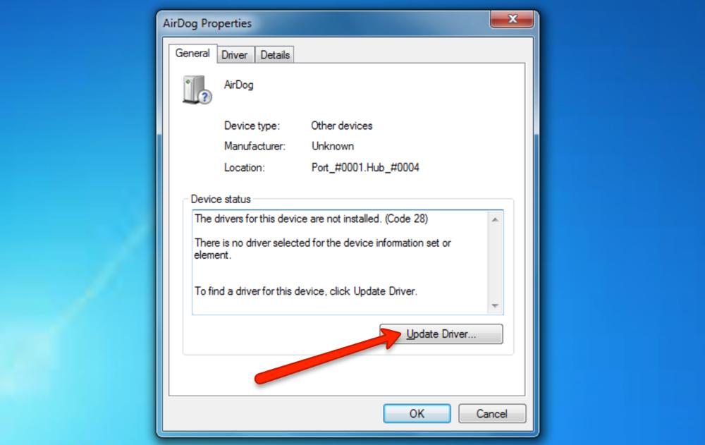 AirLoader Installation for Windows 7 - Airdog ADII Self-Help