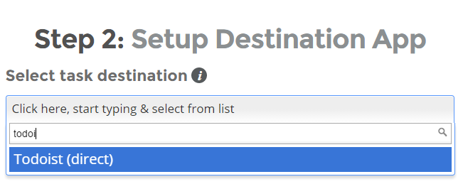 Evernote to Todoist Integration - Setup and Use - Support