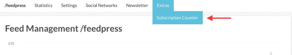 How do I add an RSS subscription button to my website