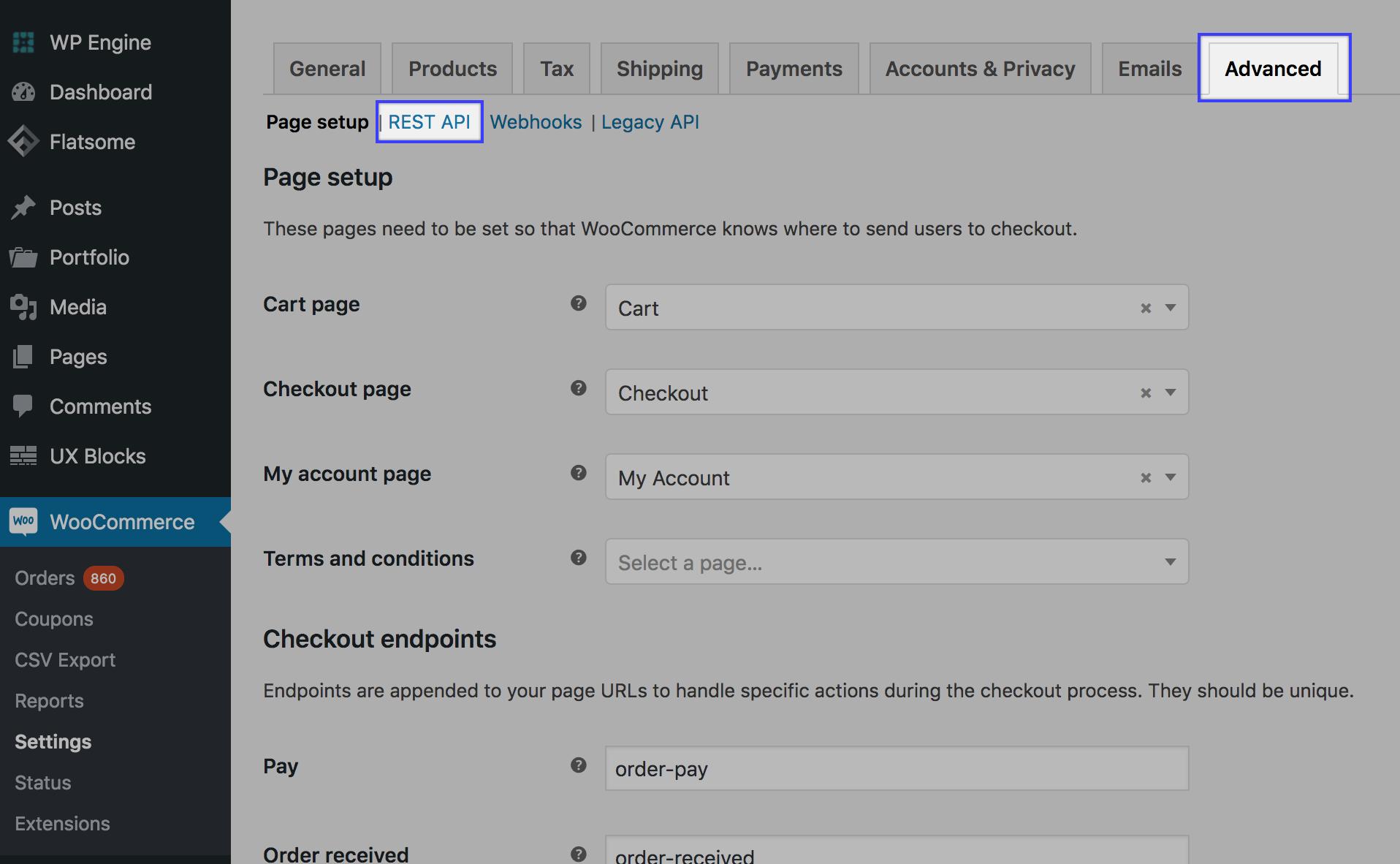 WooCommerce API Healthiness - Support + Documentation