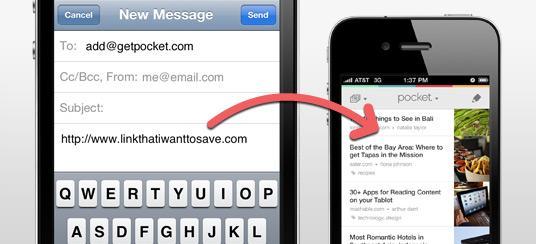 77e83c4c7fe6d1 Saving to Pocket via Email - Pocket Support