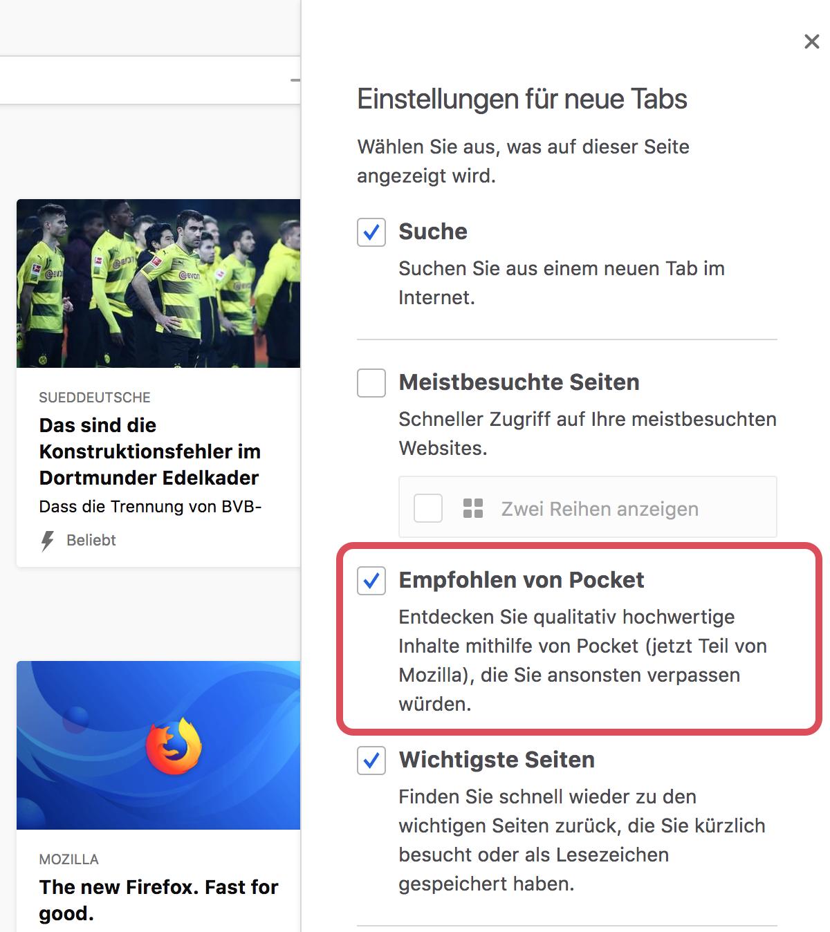 Häufig Gestellte Fragen Zu Pocket Empfehlungen In Firefox Pocket