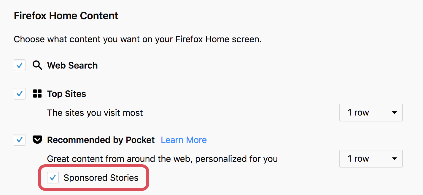 Pocket Recommendations in Firefox FAQ - Pocket Support