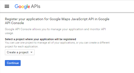 Google Maps API key for WorkScout - Purethemes net Knowledge
