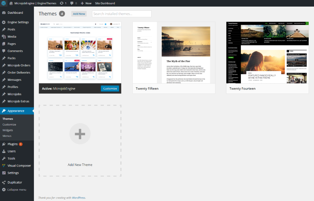 Download and install the theme - EngineThemes Knowledge Base