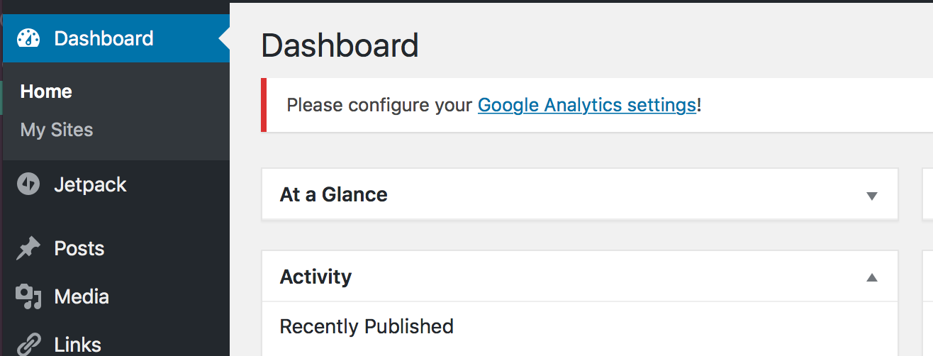 "Lost Google Analytics data: Read this before you ""Configure"