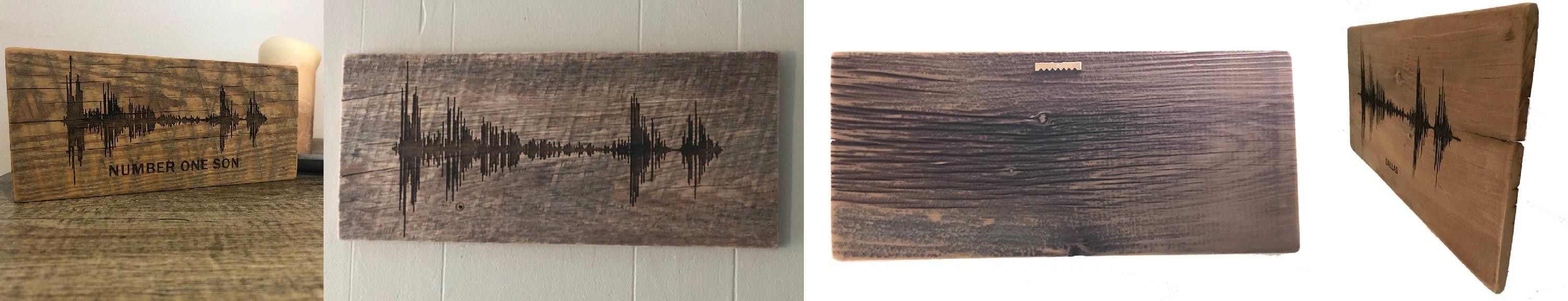Soundwave Art Barn Wood