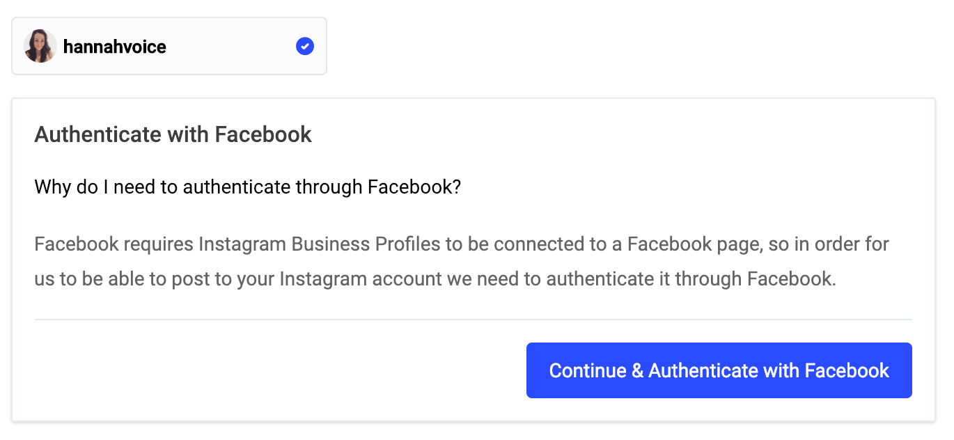 Publish] Connecting your Instagram account and setting up Direct