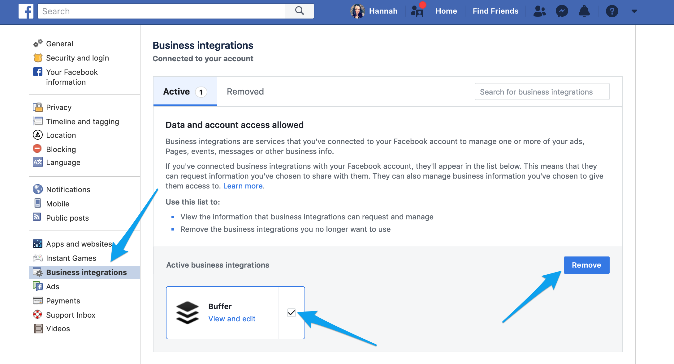 Publish] Connecting your Facebook Page - Buffer FAQ