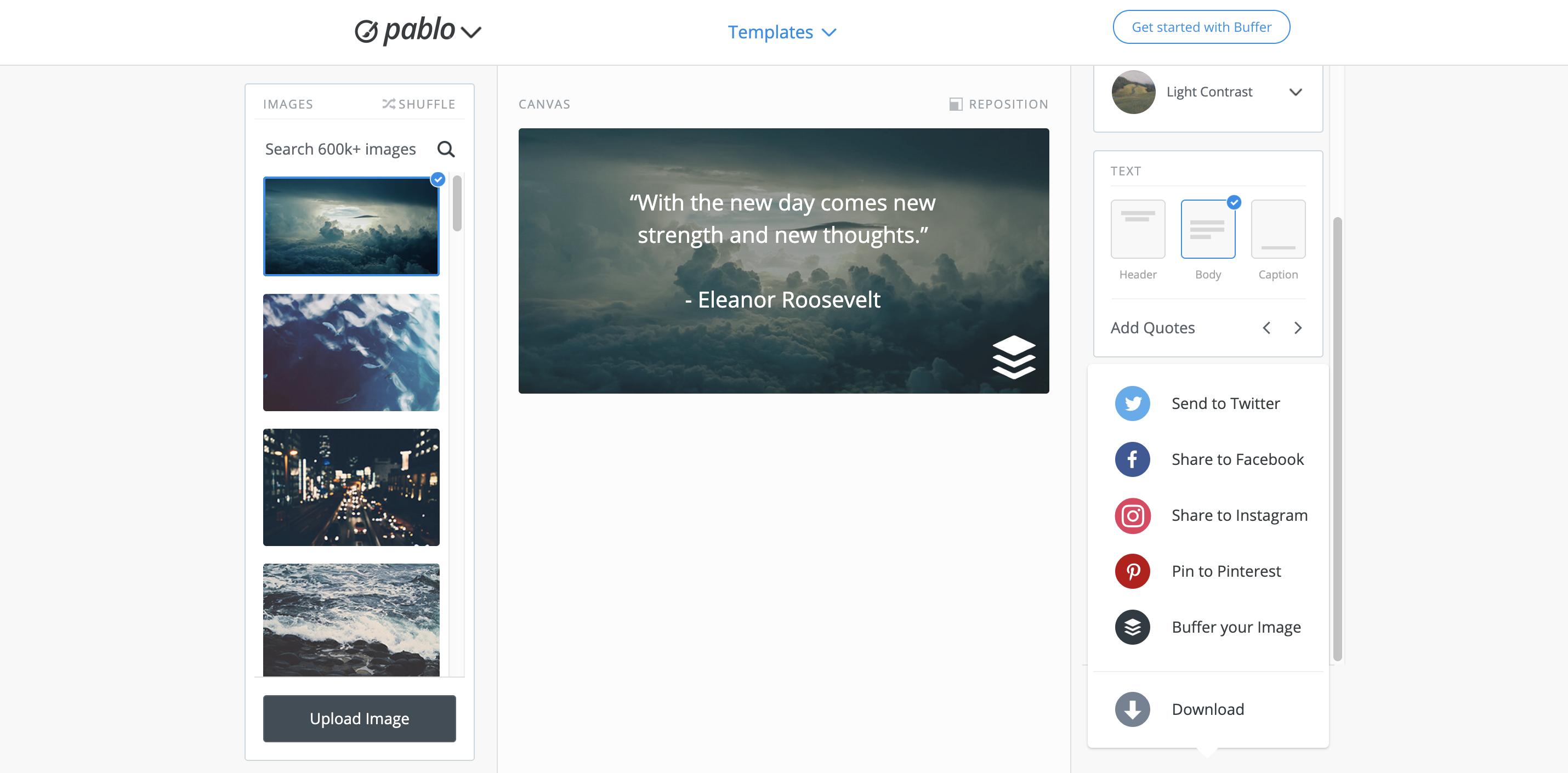 Publish] Creating social media images using Pablo - Buffer FAQ