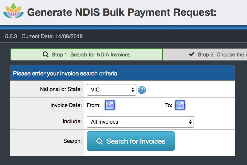 Generating NDIS Bulk Payment Requests - SupportAbility