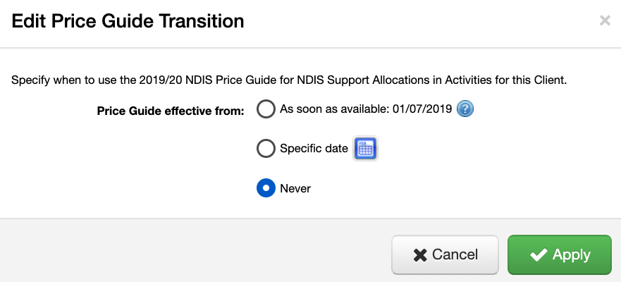 NDIS Price Guide Transition - SupportAbility Knowledge Base