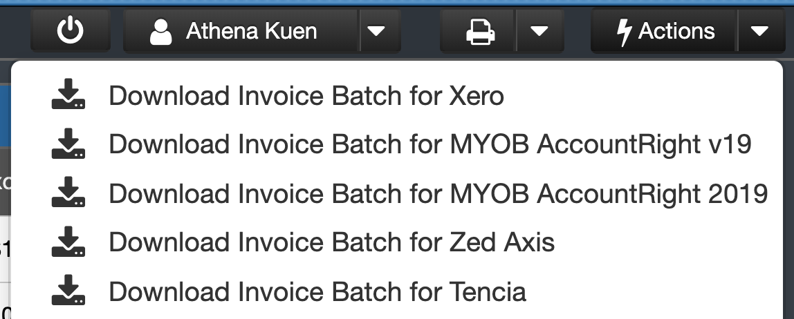 Generating an Internal [Direct] Invoice Batch