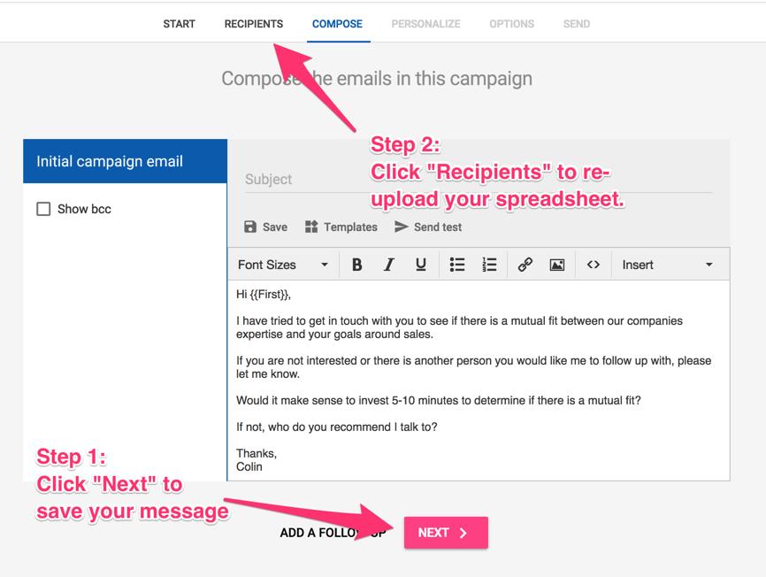 How do I use a template? - Mailshake Help