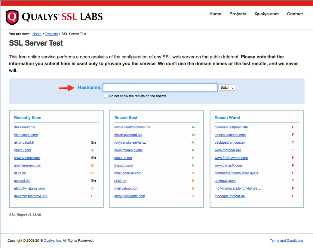 Test Your Marketplace Ssl Certificate And Configuration Near Me